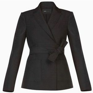 "NEW BCBC MaxAzria ""Connor"" Belted Wrap Tie Blazer"
